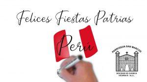 Fiestas patrias 2020